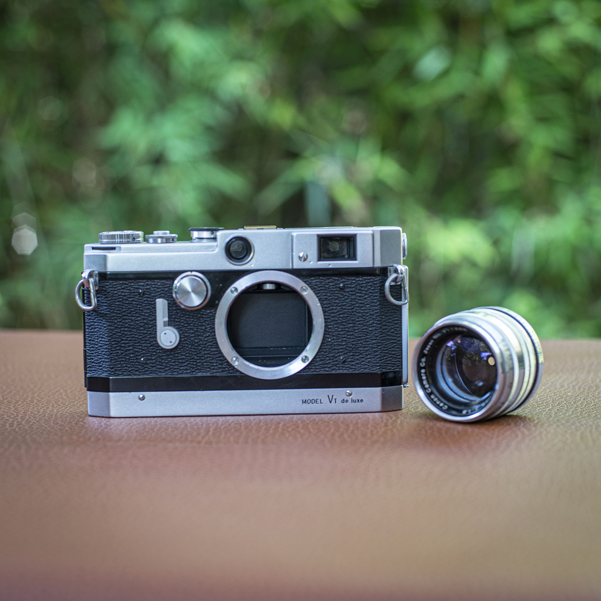 camera with lens removed