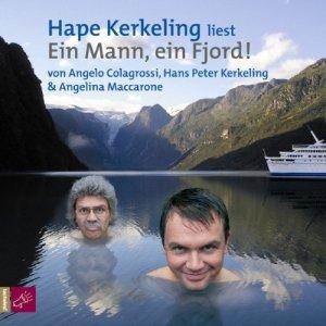 Ein Mann ein Fjord