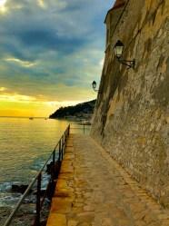 Nice to Villefranche - Citadel