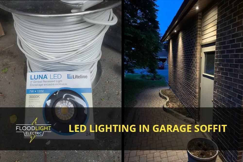 project garage soffit lighting