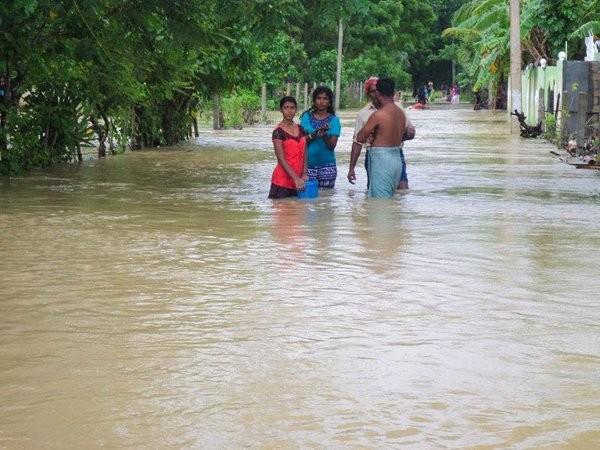 Floods in northern Sri Lanka