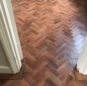 Karndean Art Select Parquet Flooring with Border