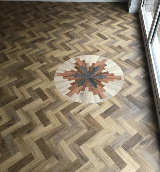 Amtico flooring motif
