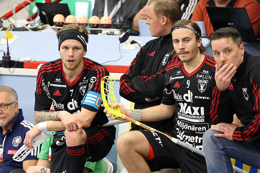 Brothers in arms - Enström and Galante Carlström. / Photo: Per Wiklund