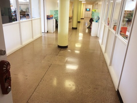 School-Polished Concrete