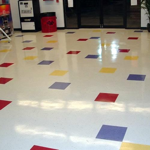 Lovely Vinyl Floor Striping Cleaning