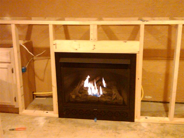 Janet's fireplace project