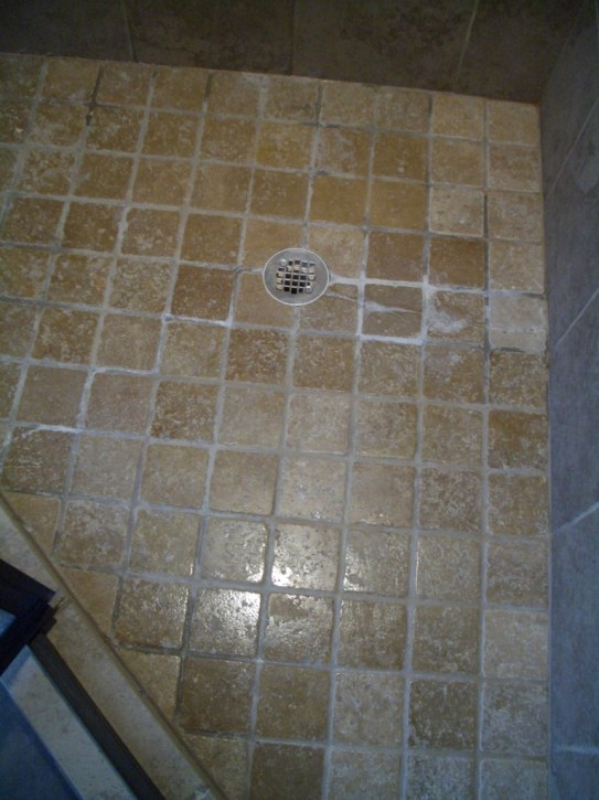 Nah, the tile must be flawed. The installation is perfect.