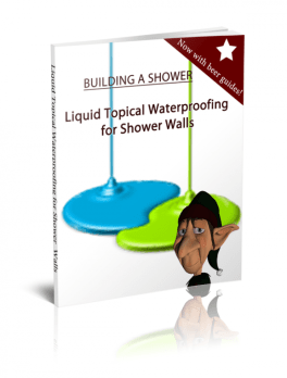Liquid Topical Waterproofing Around Shower Walls
