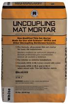 Custom Uncoupling Mat Mortar