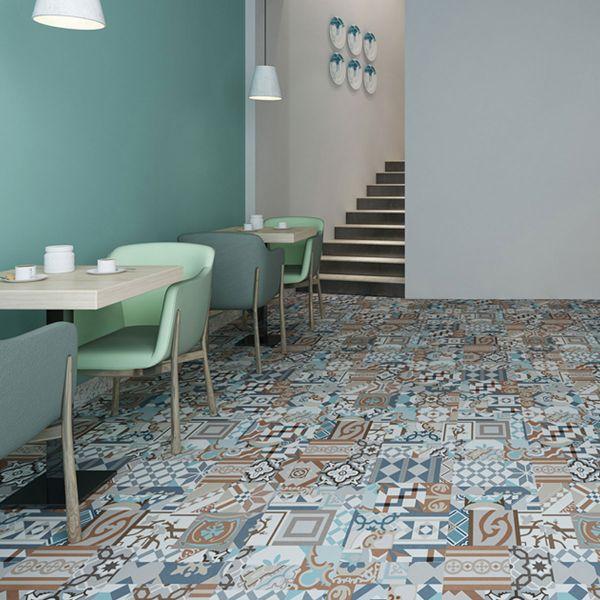 naturelle self adhesive vinyl flooring moroccan mosaic tile