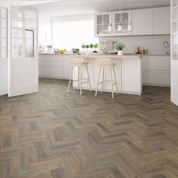 signature select parquet herringbone luxury vinyl flooring noble oak ssp 016
