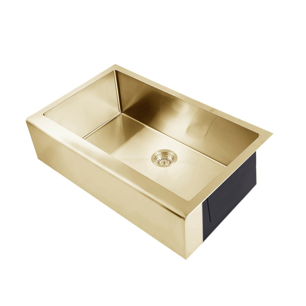 belfast farmhouse kitchen sink brass