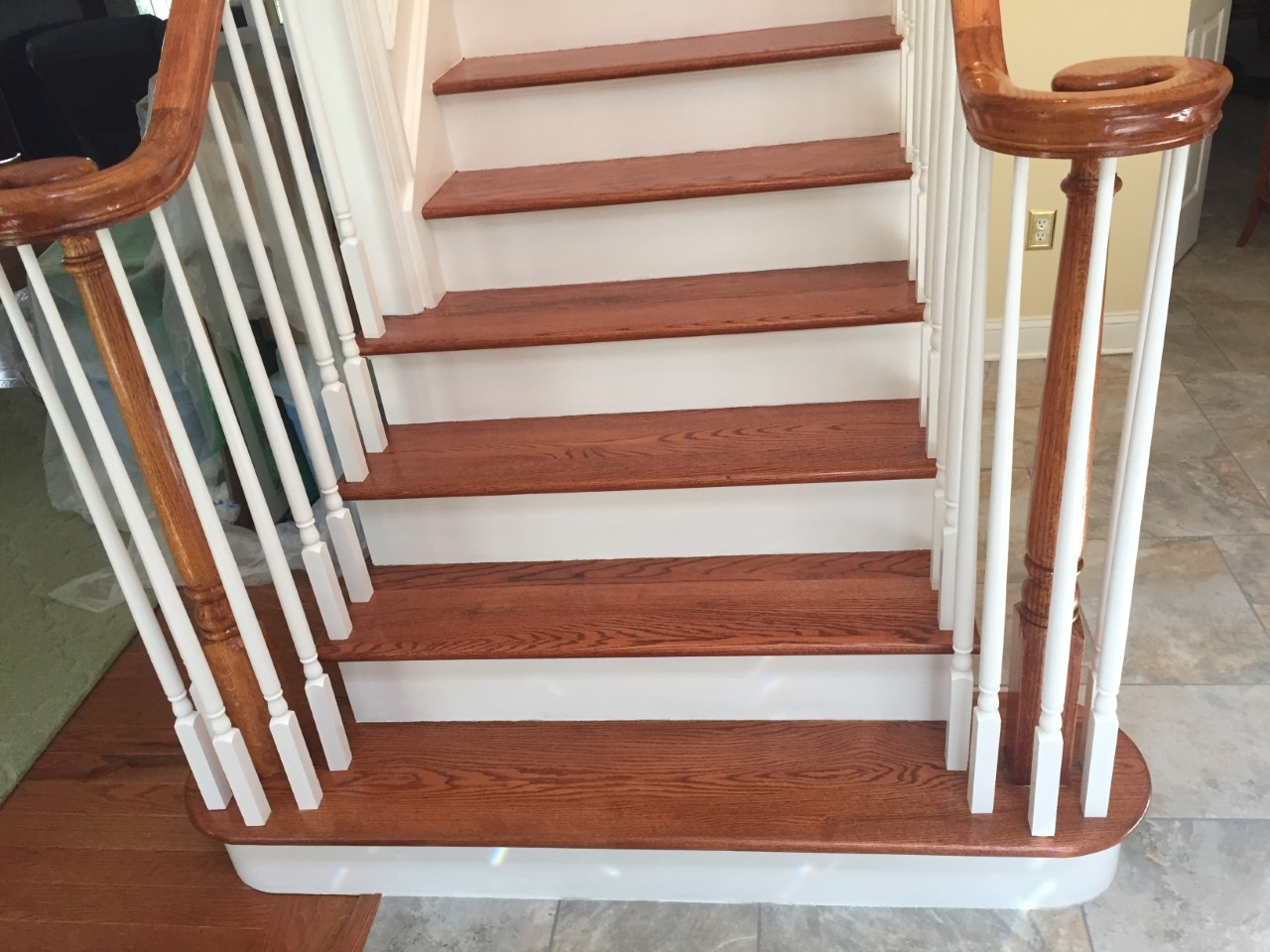 Stairs Snanding And Refinishing Installing New Steps Wood | Installing Wood Floors On Stairs | Stair Tread | Stair Nosing | Carpeted Stairs | Vinyl Plank | Carpet