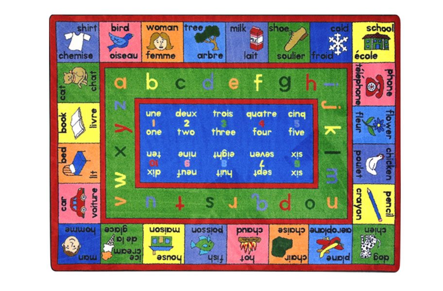 Make your home or classroom fun and educational with Educational Mats & Rugs!