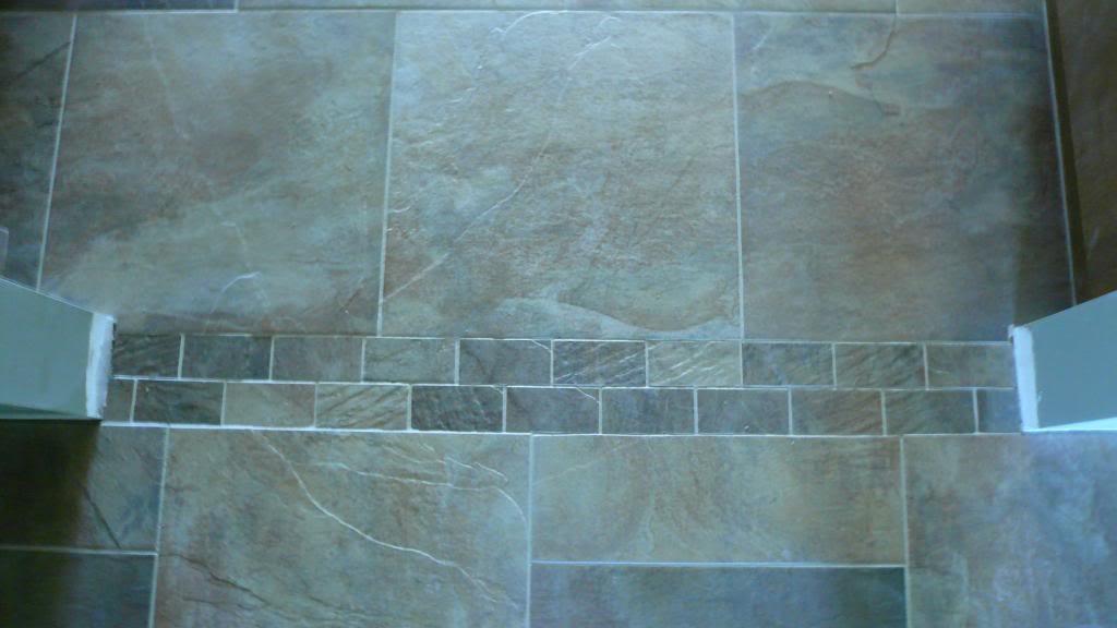 Tile threashhold pattern