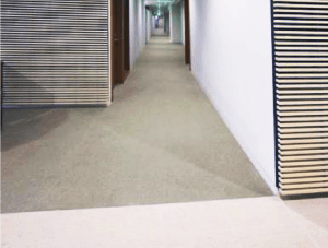 FSI Commercial Flooring for Corporate office cubicles & hallways - Capstar Project