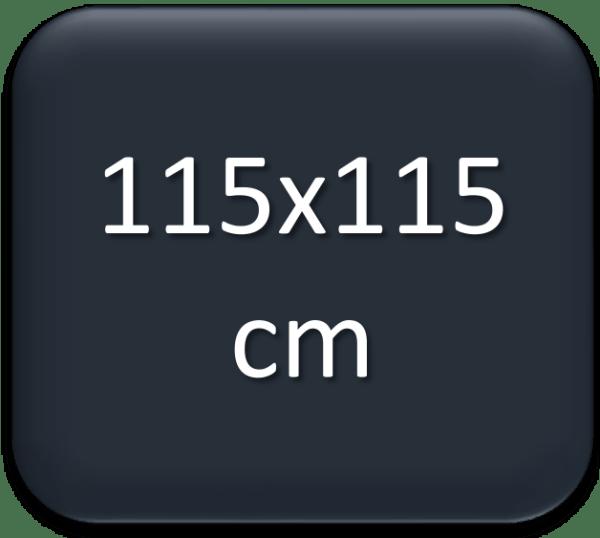 115x115cm