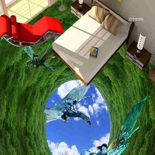 3D Avatar Epoxy Flooring