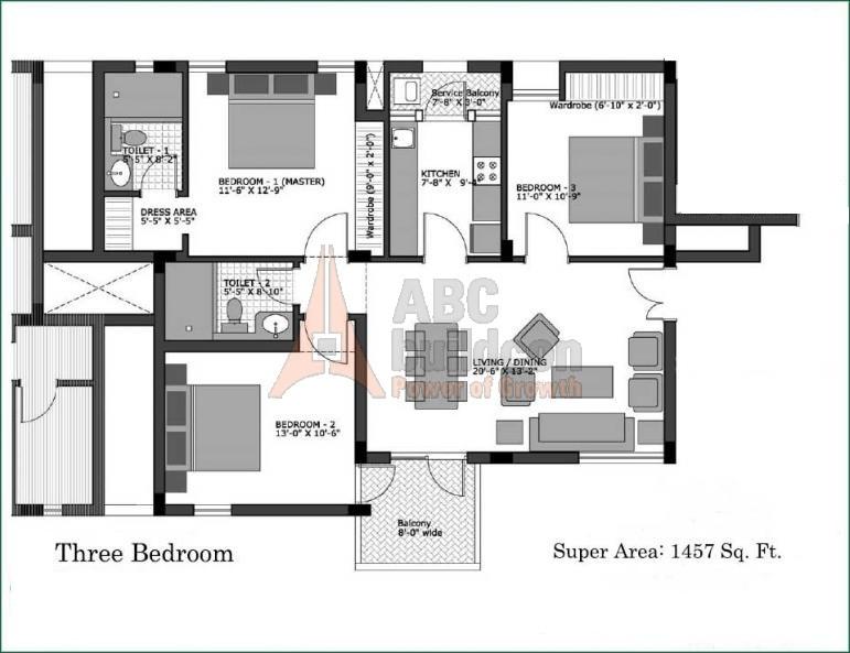 Vatika City Homes Floor Plan