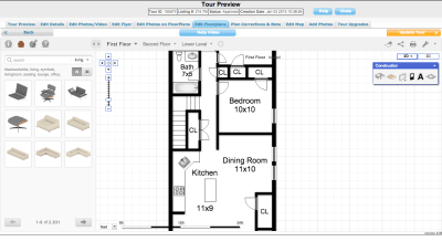 Edit FloorPlans