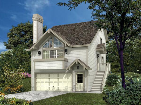 siminridge sloping lot home plan 007d 0087 house planore