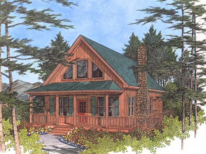 Driftwood Spring Cottage Home Plan 013D 0012   House Plans and More Cabin   Cottage House Plan Front Image   013D 0012   House Plans and More