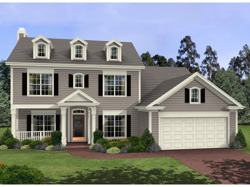 Harrison Glen Colonial Home Plan 013D 0045   House Plans and More Harrison Glen Colonial Home