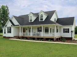 Home Plans with a Wrap Around Porch   House Plans and More country style ranch home with wrap around porch