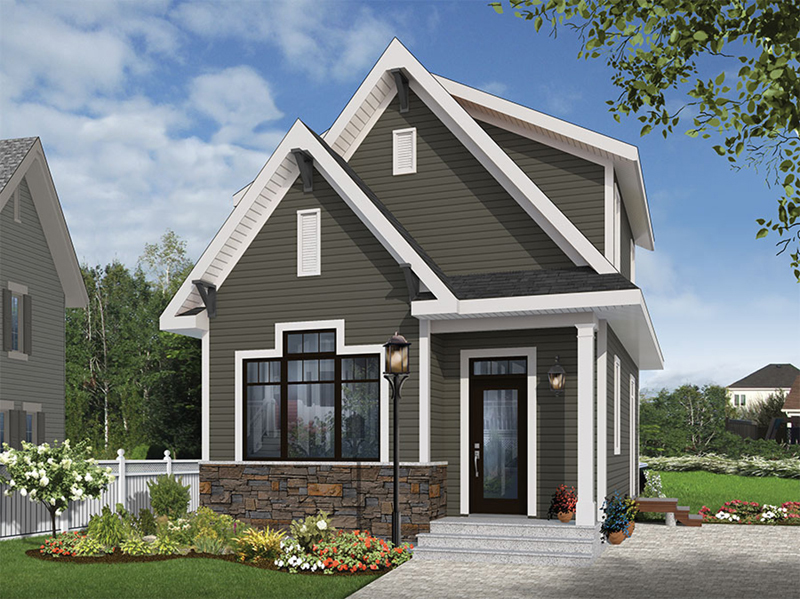 Wickham Small Traditional Home Plan 032D-0812