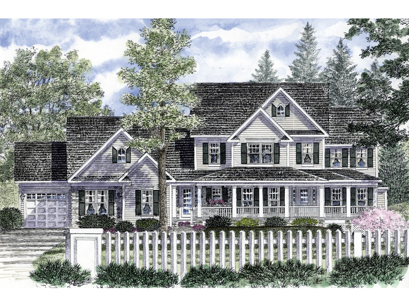 Eldorado Traditional Home Plan 034D 0051   House Plans and More Enjoyable Home With Traditional Southern Appeal