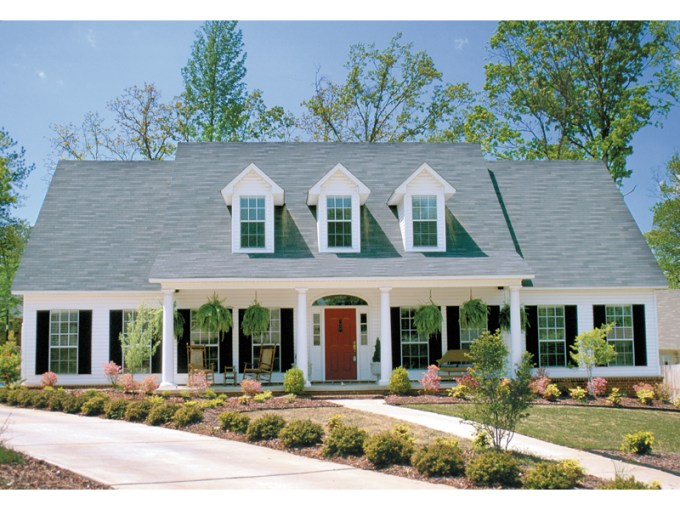Gunnison Mill Plantation Home Plan 055D 0212   House Plans and More Southern Style House With Sweeping Covered Front Porch