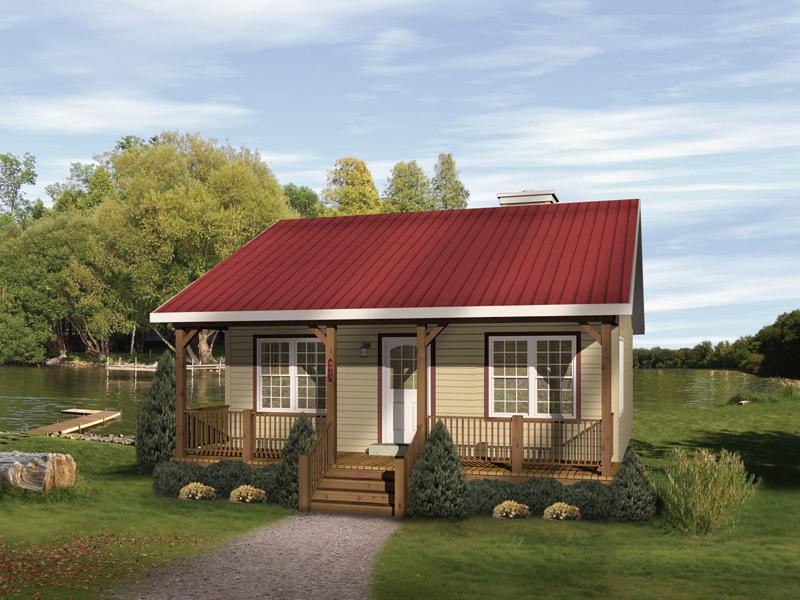 Dogwood Cabin Home Plan 058D-0010