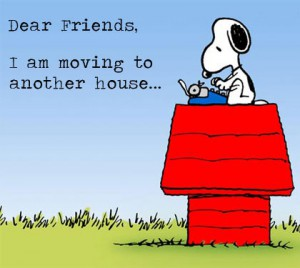 Moving Snoopy