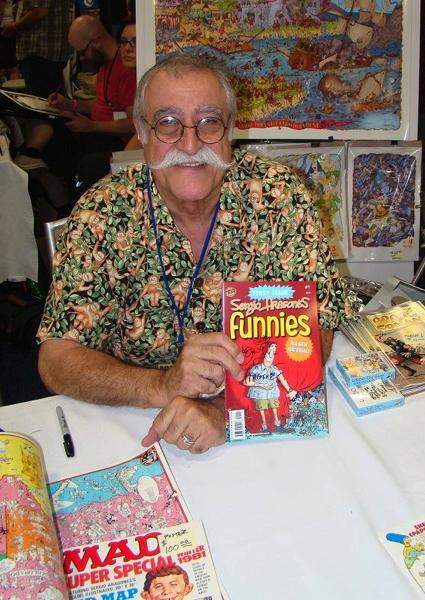 Cartoonist Joe Phillips