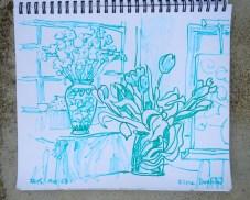 Drawing ©Flora Doehler, 2015
