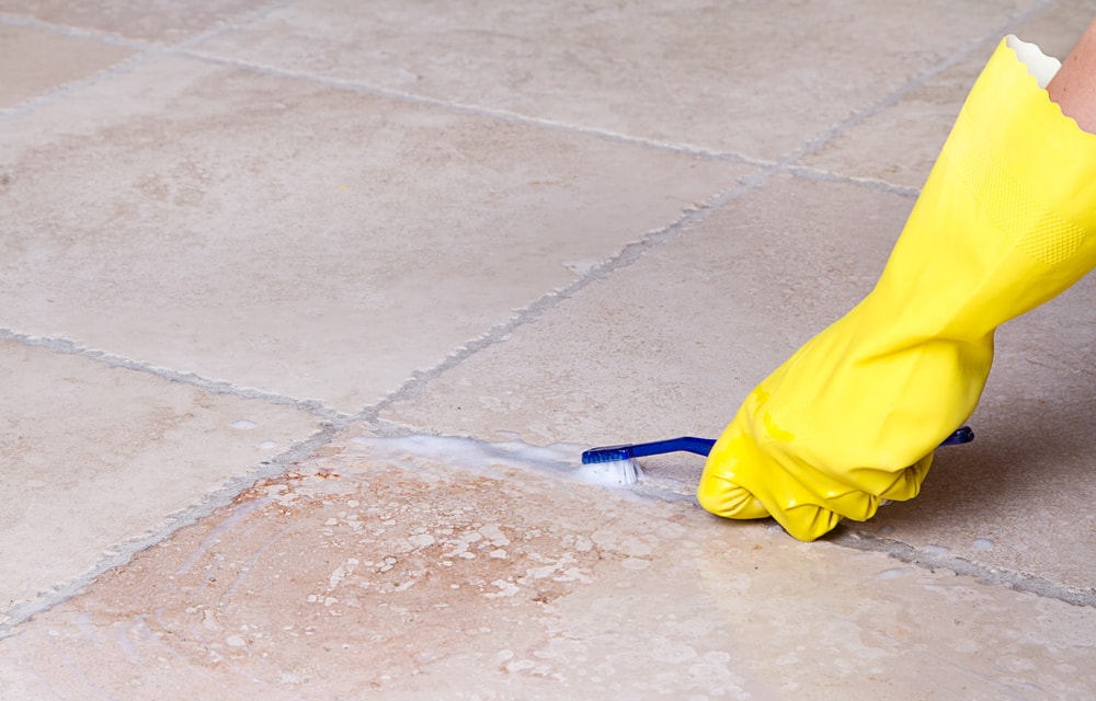 tips to remove paint from grout flora