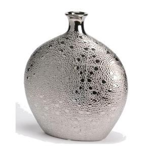 Vase Afra – Argenté