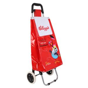 Chariot Shopping 2 Roues Abbée – Rouge