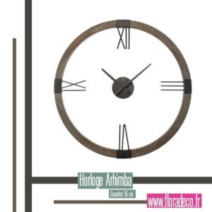 Nouveautés Flora Déco -Horloge Arhima