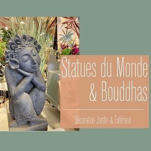 Statues du Monde et Bouddhas Jardin et Extérieur