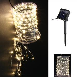 Guirlande Solaire nano LED Alama – Blanc Chaud