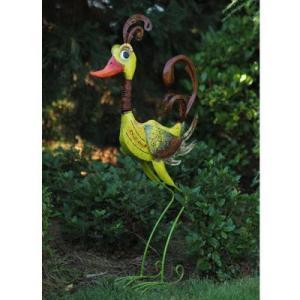 Statue Oiseau Rigolo en métal – Oiseau Daisy 105cm