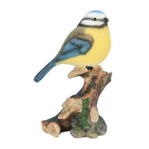 Statue en résine – Pietra  – Mésange sur branche