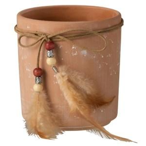 Cache Pot Plumes Terracotta