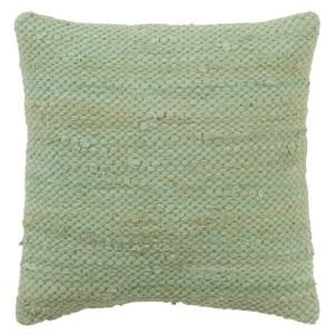 Coussin Crochet Vert 45x45cm