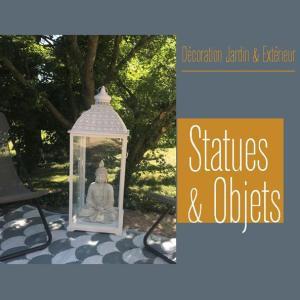 Rubrique Statues & Objets - Décoration Jardin & Extérieur - Flora Déco