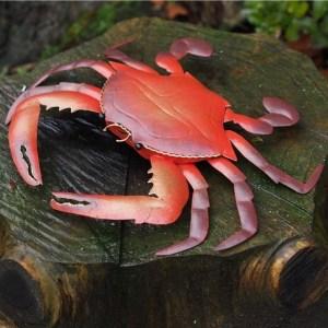 Statue métal Crabe Sebastien