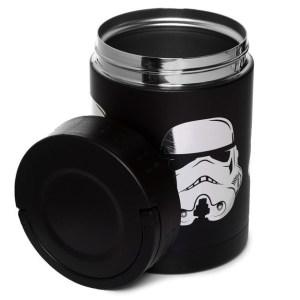 Boîte Repas en Acier Inoxydable Stormtrooper Noir