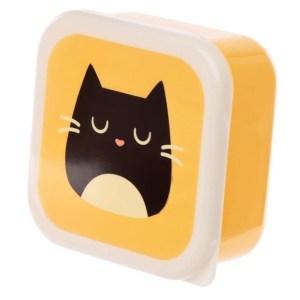 Set de 3 boites repas Feline Fine Cat
